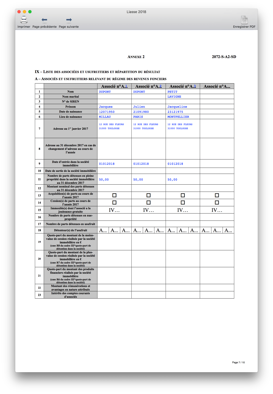 Cogilog SCI - Formulaires